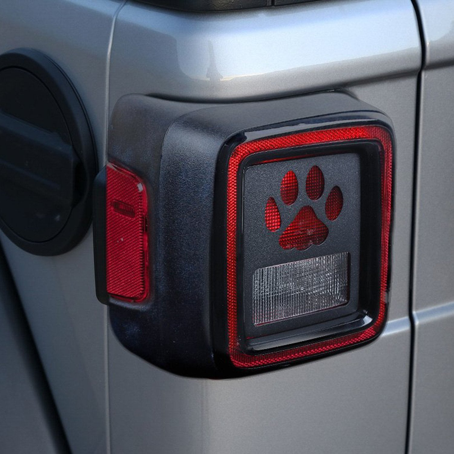 Taillight Cover for 18 Jeep Wrangler JL Sport/Sports
