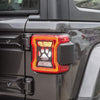 Taillights Covers Guards for 18 Jeep Wrangler JL Sport/Sports