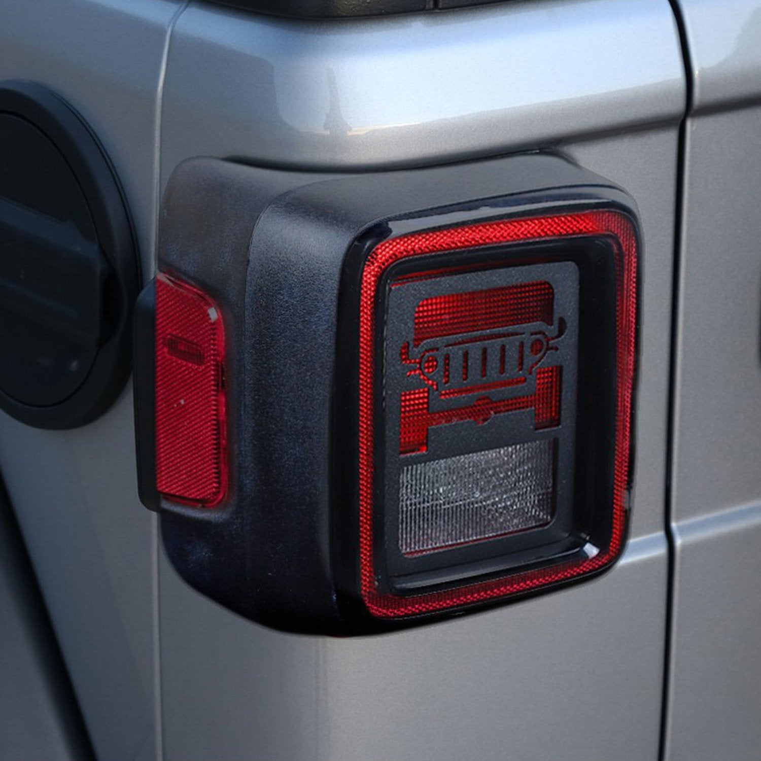 Taillights Guard Cover For 18 Jeep Wrangler JL Sport/Sports