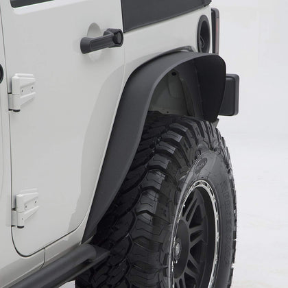 wildrock4x4 Fenders 07-17 Jeep Wrangler JK Fender Flares Black Textured