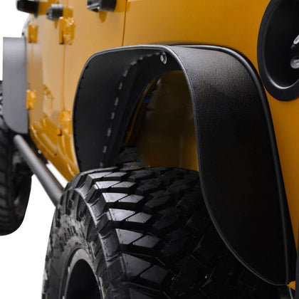 wildrock4x4 Fenders Fender Mud Guard Replacement 07-17 Jeep Wrangler JK