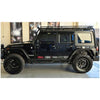 Front & Rear Fender Flares for Jeep Wrangler JK 2007-2018