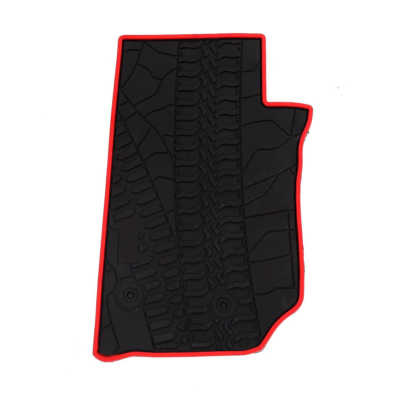 wildrock4x4 Floor Mats Jeep Wrangler JK 14-17 Runner Floor Mats Set Heavy Duty
