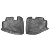 Rubber Front & Rear Floor Mats for 97-06 Jeep Wrangler TJ