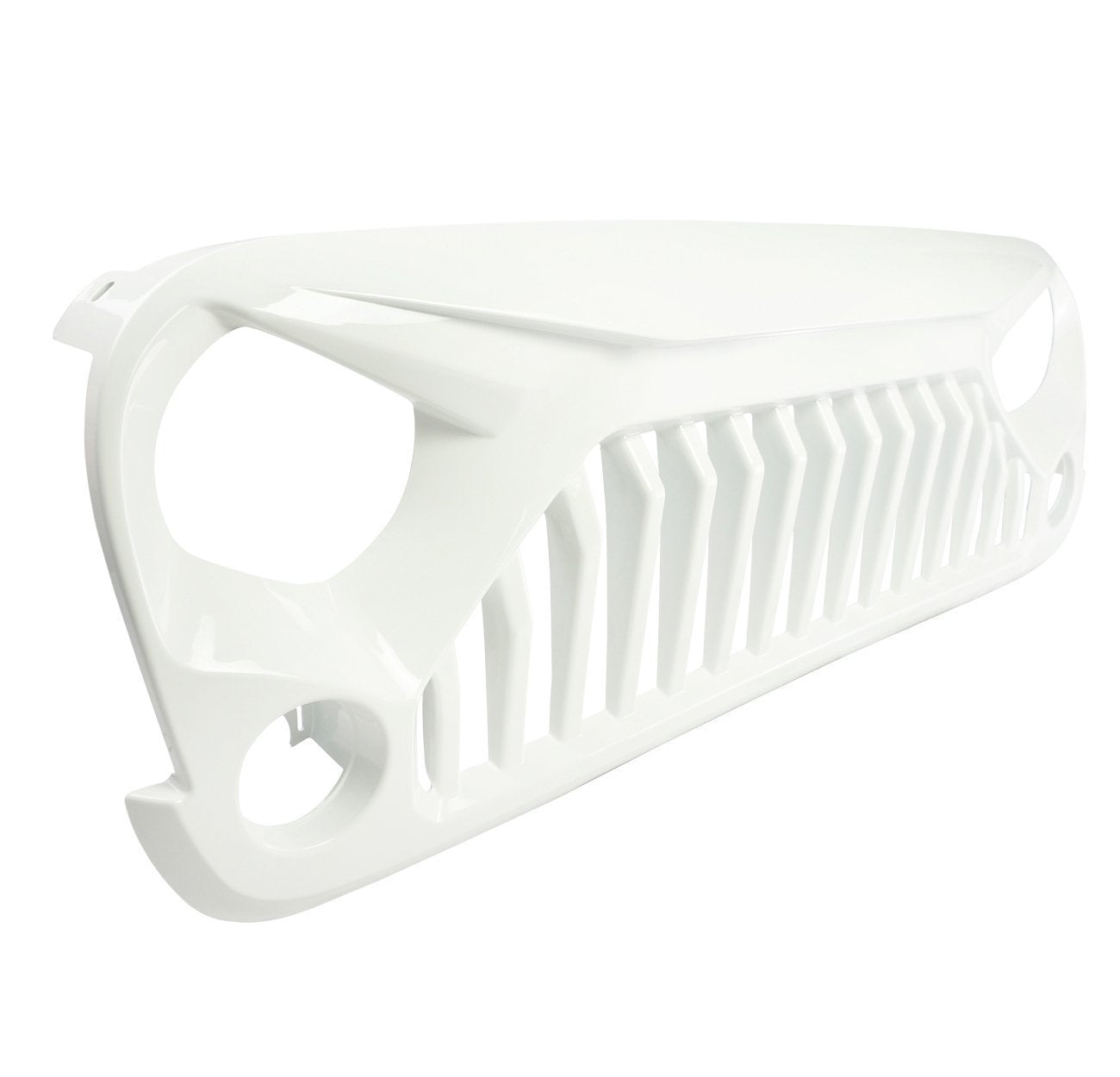 Gladiator Grille for Jeep Wrangler JK 07-18-Glossy White