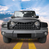 Halo Headlights & Warrior Grille & Turn Signal Lights