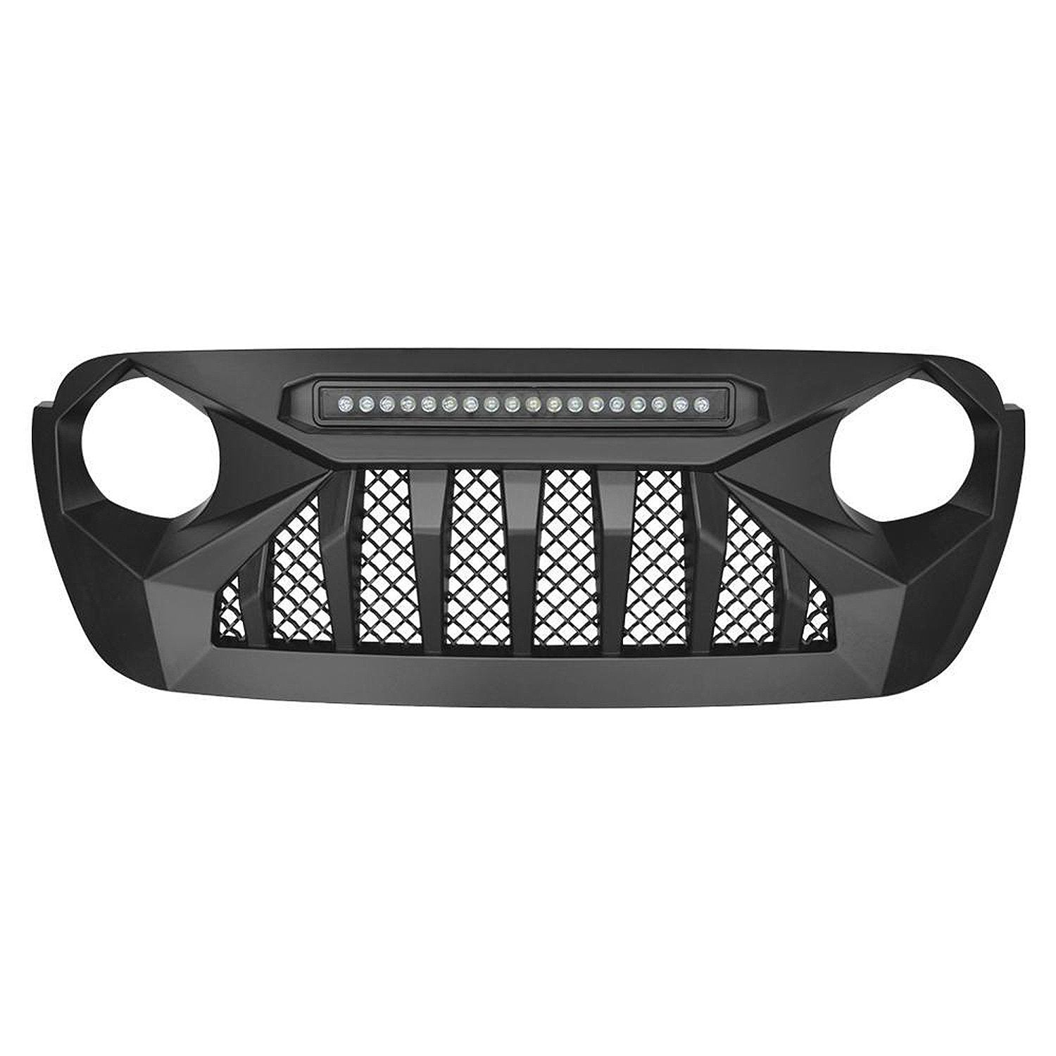[Pre-Order]Demon Grille w/LED Lights for 18-20 JL & Gladiator