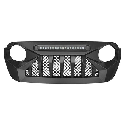 wildrock4x4 Grille Parts [Pre-Order]Demon Grille w/LED Lights for 18-20 JL & Gladiator