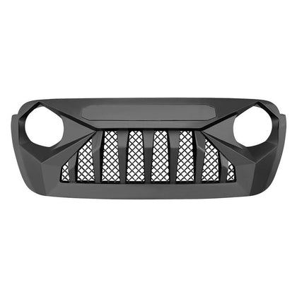 wildrock4x4 Grille Parts [Pre-Order]Matte Black Demon Grille w/ Mesh for 18-20 Jeep Wrangler JL & Gladiator