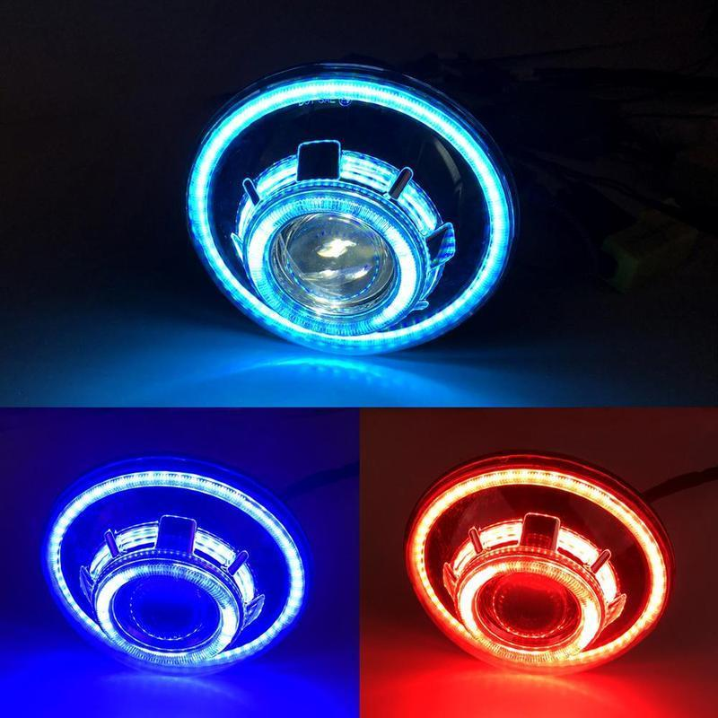 7 Inch RGB Eye Headlights (18-19 Jeep Wrangler JL)