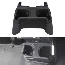 wildrock4x4 Interior parts Rear Seat Armrest Cup Holder for Jeep JL 18-19