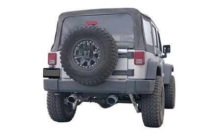 wildrock4x4 Mufflers 07-18 Jeep Wrangler JK Exhaust Metal Mulisha Exhaust