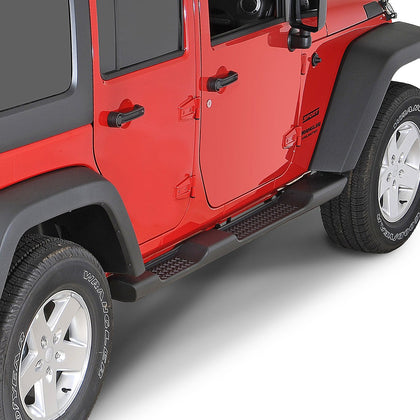 wildrock4x4 Step Rails & Running Boards 07-17 Jeep Wrangler JK  4 Door Side Step Bars