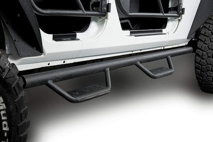 wildrock4x4 Step Rails & Running Boards 07-18 Jeep Wrangler Jk 4 Door Side Steps Nerf Bars