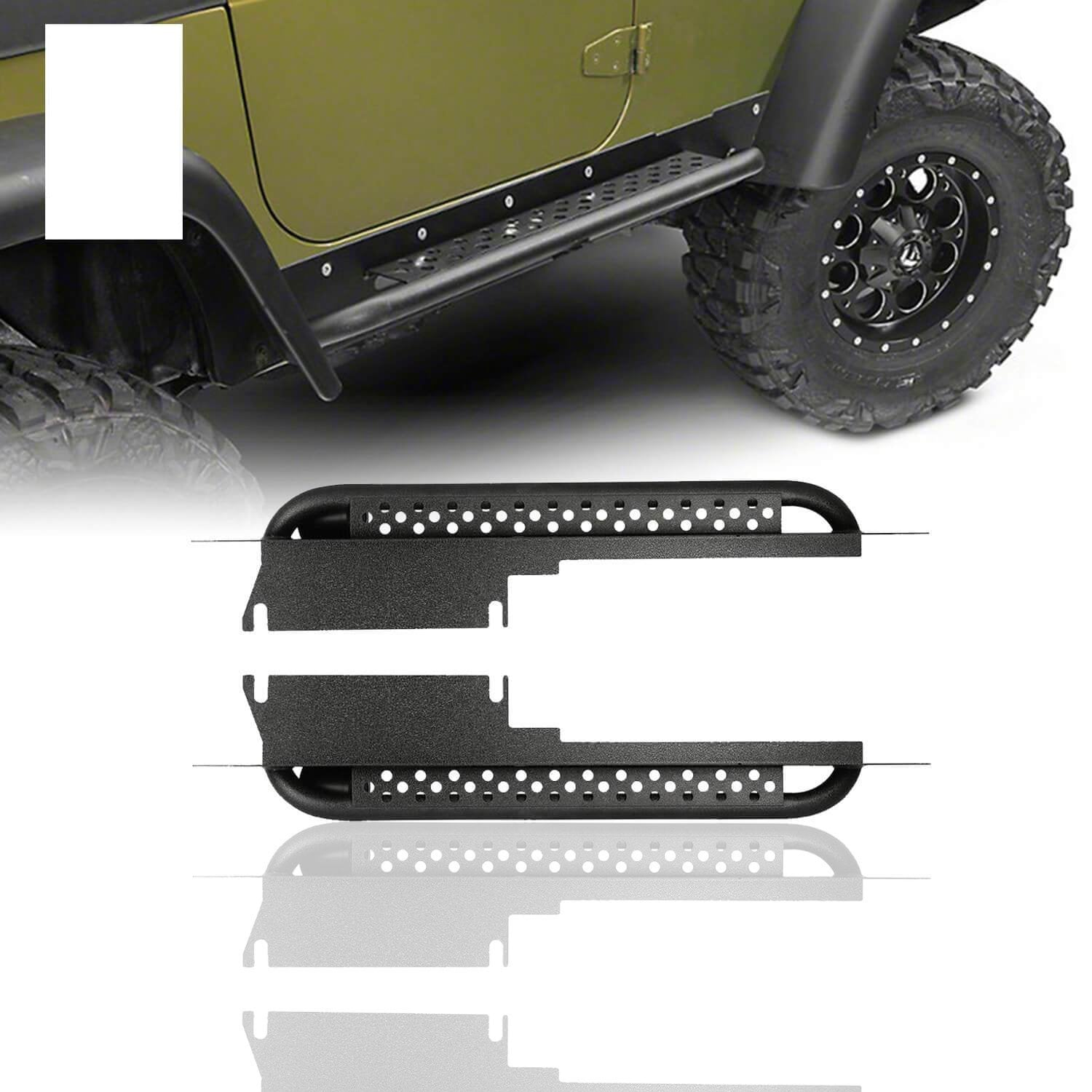 97-06 Jeep Wrangler TJ & Unlimited side steps