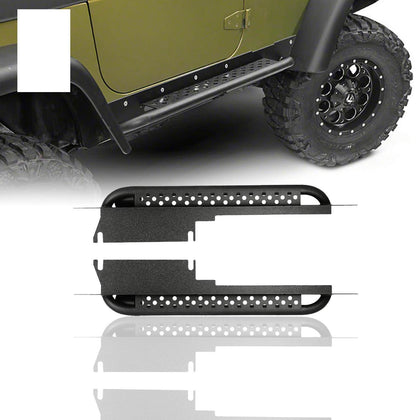 wildrock4x4 Step Rails & Running Boards 97-06 Jeep Wrangler TJ & Unlimited side steps