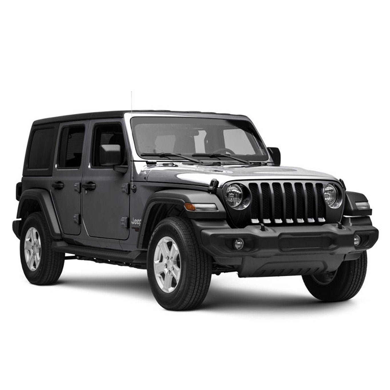 OE Factory Style Side Step Bars for Jeep Wrangler JL 2018 4 Door