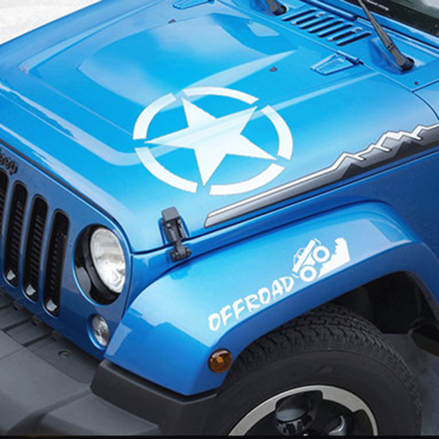 Car Sticker Decal for Car/Truck/Jeep Wrangler/Ford F150