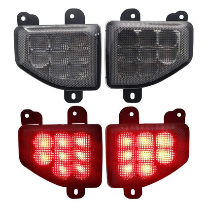 wildrock4x4 Tail & Brake Lights Rear Bumper LED Brake Light for Jeep Wrangler JL 18 19