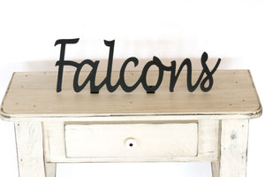 Falcons Shelf Sign