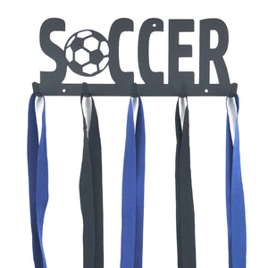 Soccer Medal Holder - 5 Hook