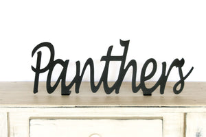 Panthers Shelf Sign