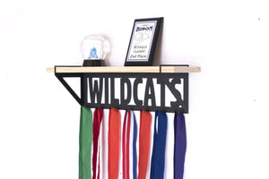 Wildcats Trophy Shelf