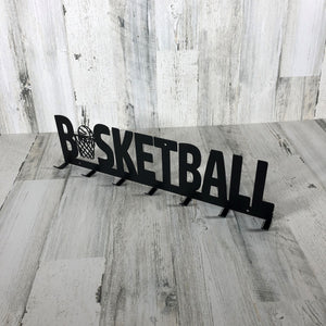 Basketball Medal Hanger - 7 Hook