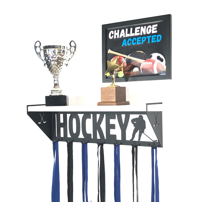 Hockey Trophy Shelf - Male