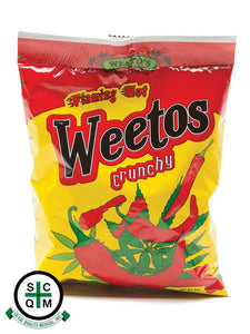 *Weeto's* - EXTRA Flaming Hot Crunchy Weetos - 150MG