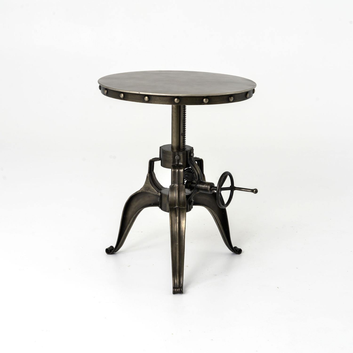 "22"" Crank Table-FURNITURE-Maker & Moss"