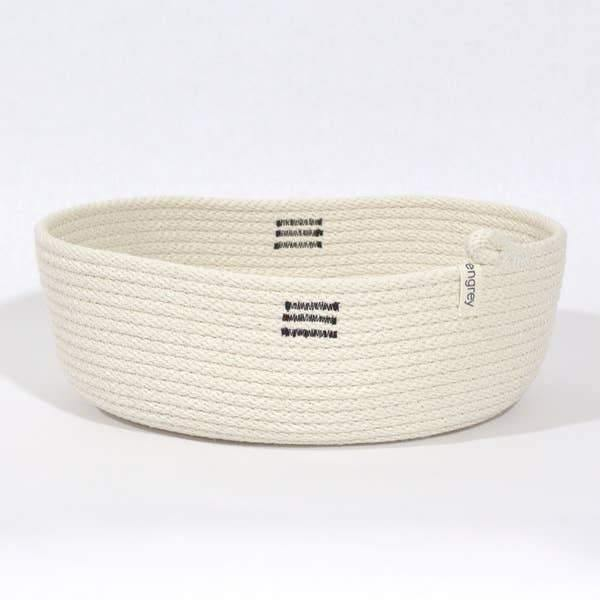 Oval Basket - White