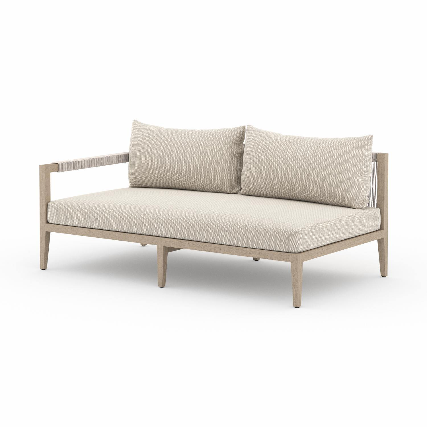 Albers Outdoor Left Facing Sofa-FURNITURE-Maker & Moss