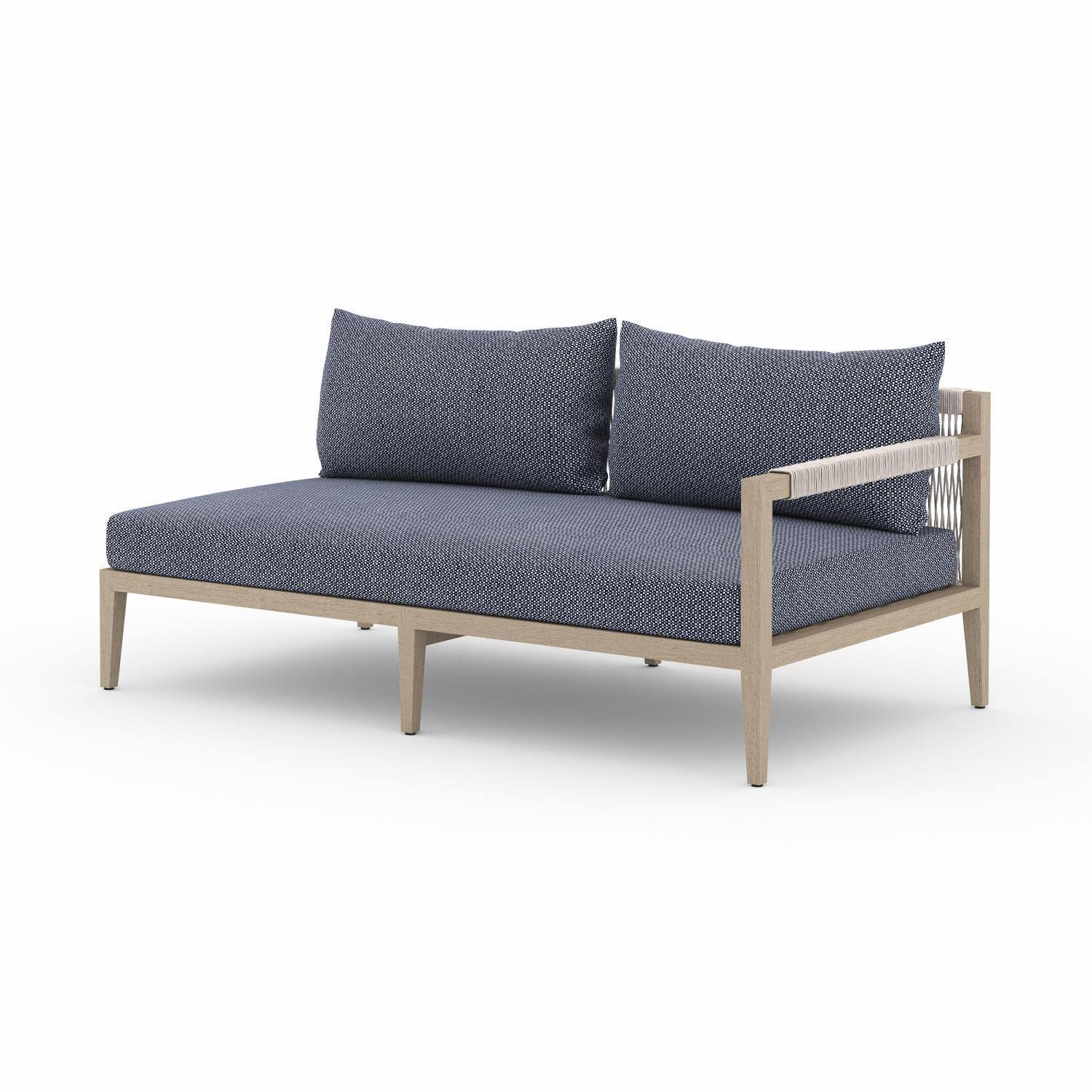 Albers Outdoor Right Facing Sofa-FURNITURE-Maker & Moss