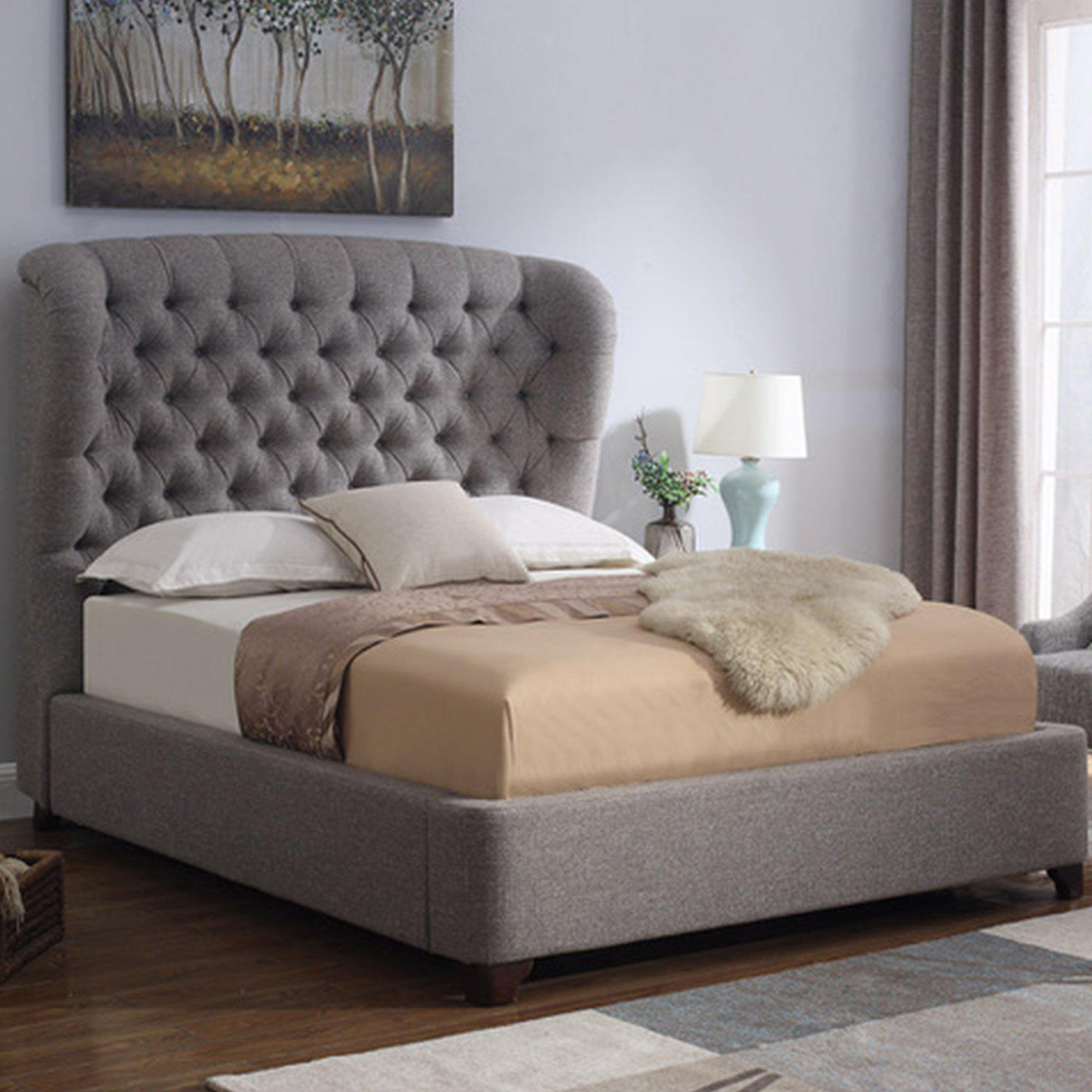 Alexandria Bed-FURNITURE-Maker & Moss