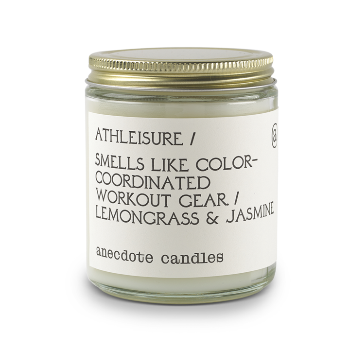 Athleisure - Lemongrass & Jasmine-CANDLE-Maker & Moss