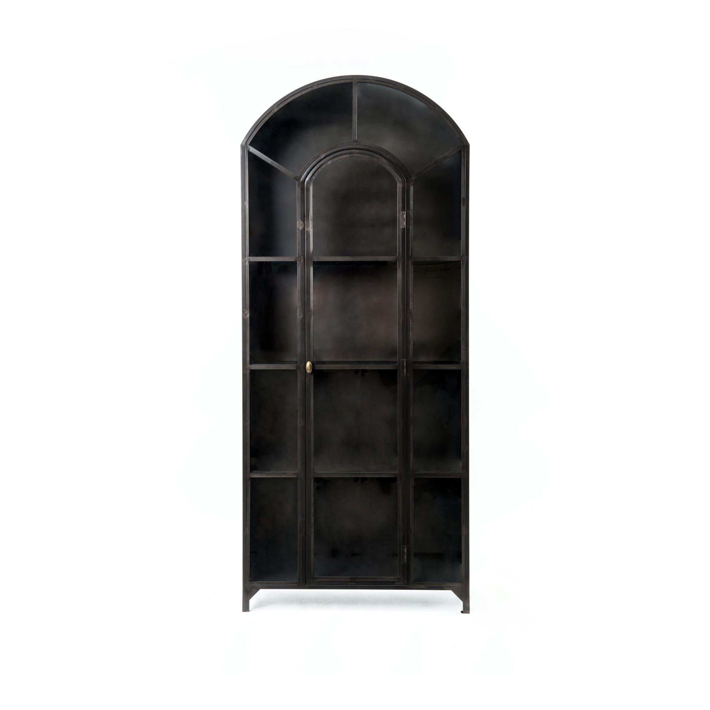 Belmont Metal Cabinet-FURNITURE-Maker & Moss