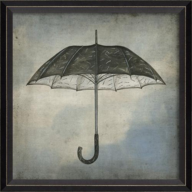 Black and White Umbrella in the Clouds-GALLERY-Maker & Moss