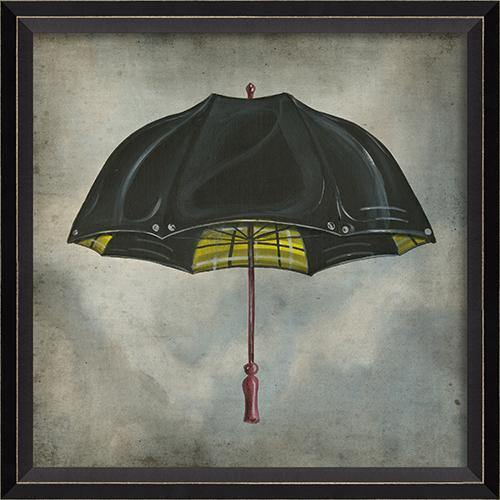 Black and Yellow Umbrella in the Clouds-GALLERY-Maker & Moss