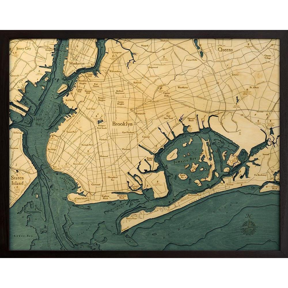 Brooklyn Wood Chart-WOOD CHART-Maker & Moss