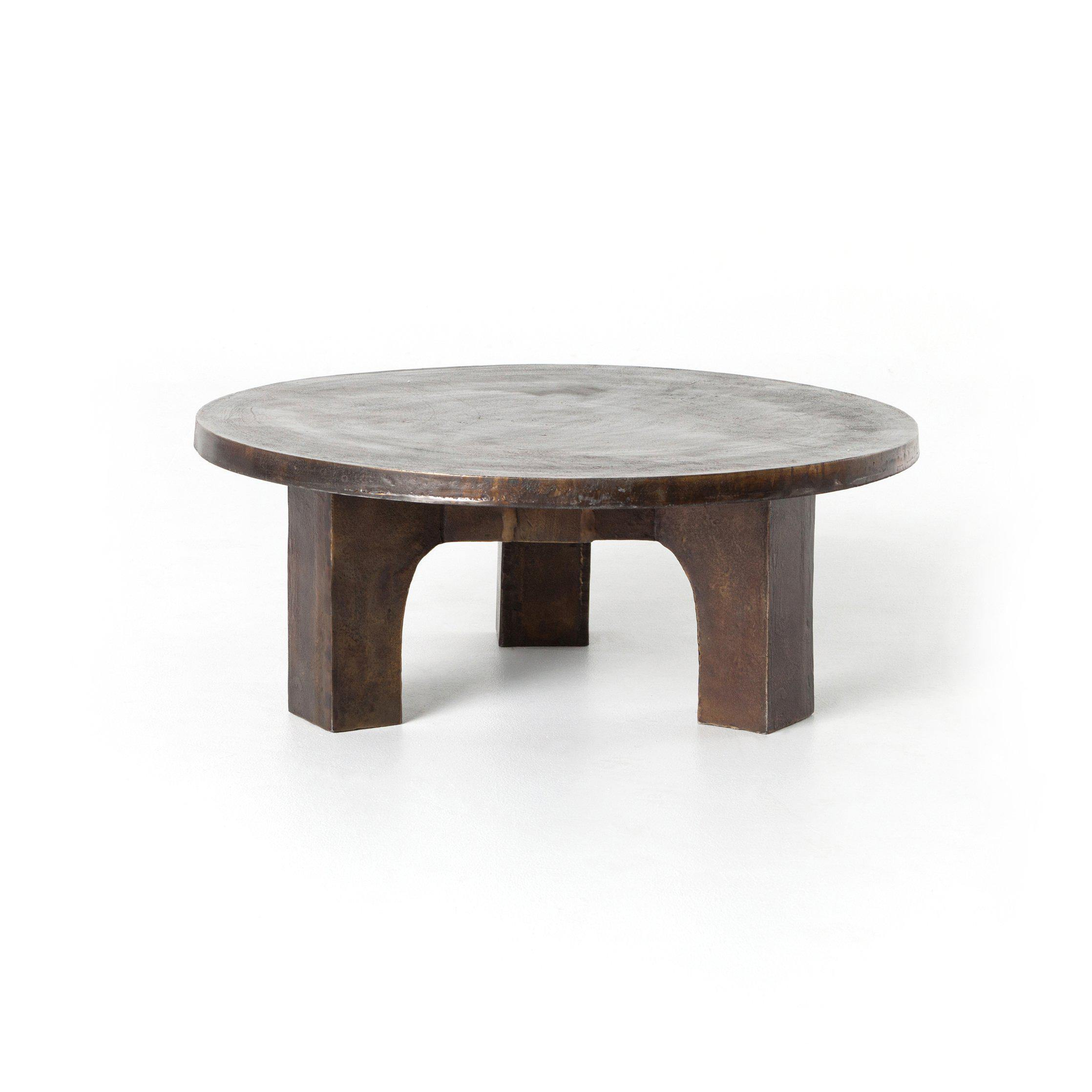 Camino Coffee Table-Antique Rust-FURNITURE-Maker & Moss