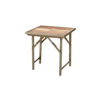 Campaign Side Table-FURNITURE-Maker & Moss