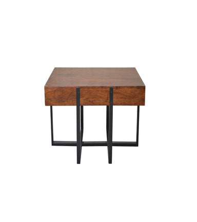Carriage End Table-FURNITURE-Maker & Moss