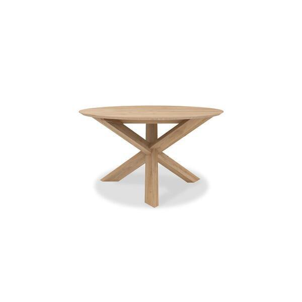 Circle Dining Table-FURNITURE-Maker & Moss
