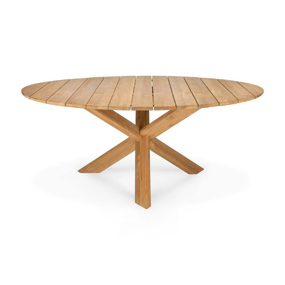 Circle Outdoor Dining Table - Maker & Moss