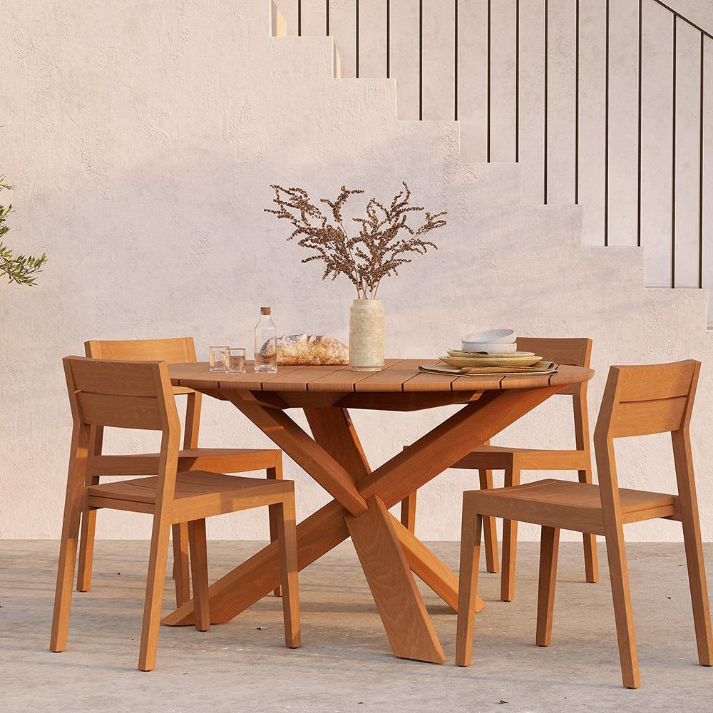 EX 1 Outdoor Dining Chair - Maker & Moss