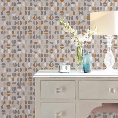 Coffee Beans Sienna Peel and Stick Wallpaper-LIFESTYLE-Maker & Moss