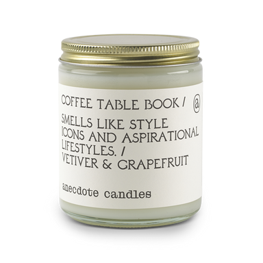 Coffee Table Book - Vetiver & Grapefruit-CANDLE-Maker & Moss