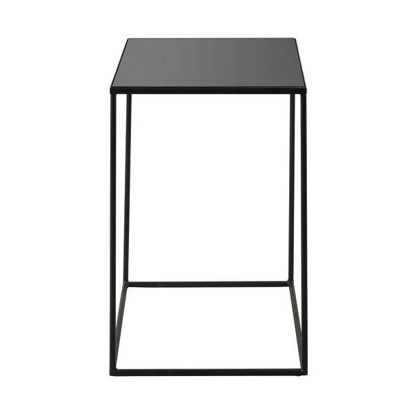 Compact Charcoal Side Table-FURNITURE-Maker & Moss