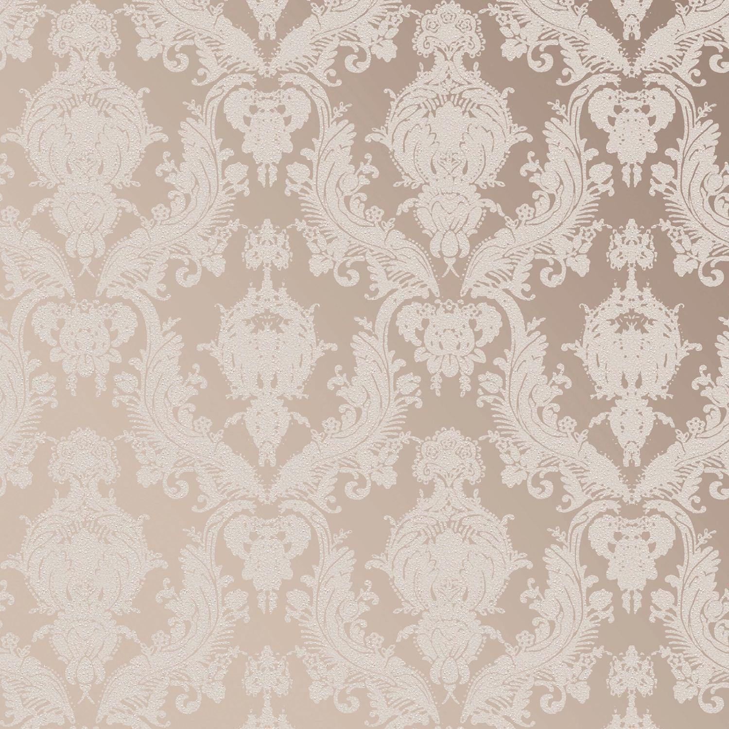 Damsel Bisque Peel and Stick Wallpaper-LIFESTYLE-Maker & Moss